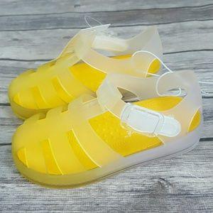 Cat & Jack Toddler Kids Yellow Water Shoes Sandal